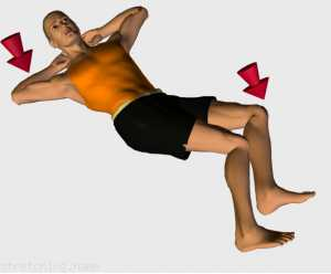 Stretching routine recommended for  football,  basketball,  cycling,  kayaking,  volleyball,  weight training,  baseball,  softball,  handball,  back,  legs,  hip,  bed,  sciatic,  gluteus.
