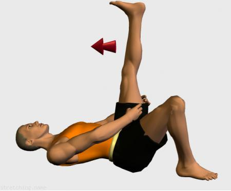 Stretching routine recommended for  athletics,  trekking,  climbing,  weight training,  jogging,  legs,  lumbar,  bed,  lumbalgia.
